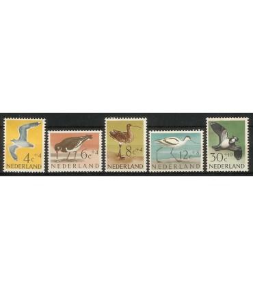 752 - 756 Zomerzegels (xx)