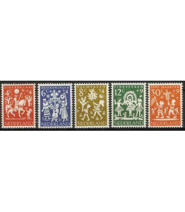 759 - 763 Kinderzegels (xx)