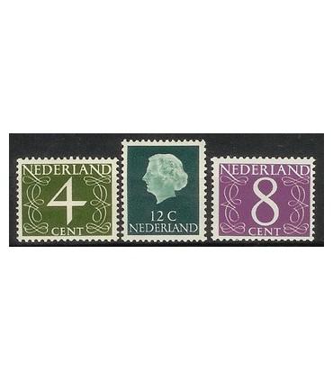774 - 776 Frankeerzegels (xx)