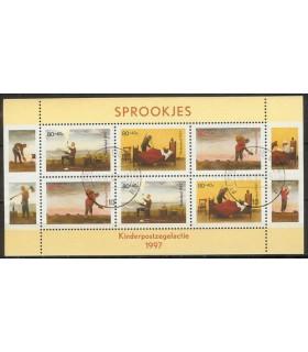 1739 Kinderzegels (o)