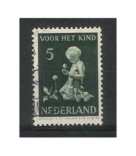 377 Kinderzegel (o)