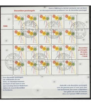 1419 Decemberzegel (o)