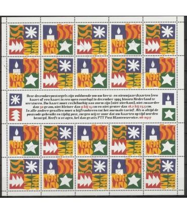 1628 - 1629 Decemberzegels (o)