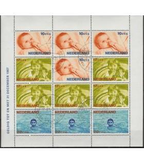 0875 Kinderzegels (o)