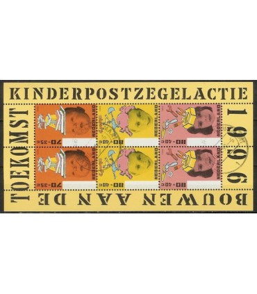 1701 Kinderzegels (o)