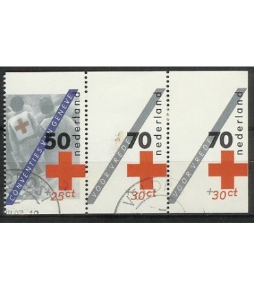 1293a -1293c Rode Kruis (o)