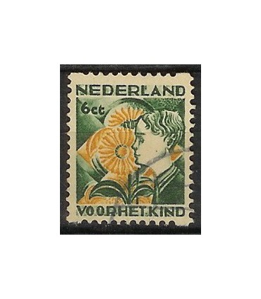 R96 Kinderzegel (o)