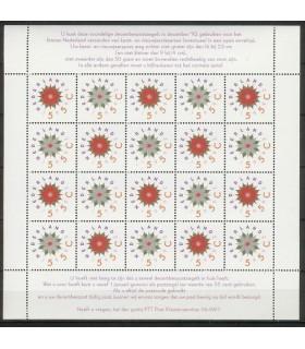 1542 - 1543 Decemberzegels vel (xx)
