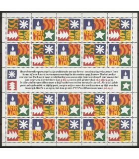 1628 - 1629 Decemberzegels vel (xx)