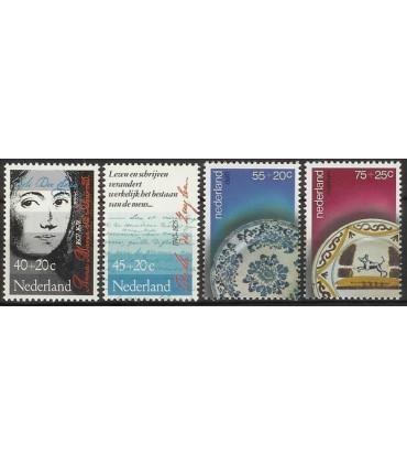 1153 - 1156 Zomerzegels (xx)