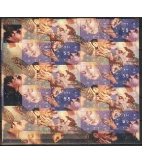 1702 - 1705 Decemberzegels (o)