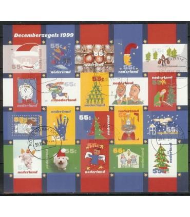 1856 - 1875 Decemberzegels (o)