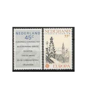 1157 - 1158 Europa zegels (xx)