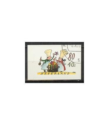 1927 Kinderzegels gestanst (o)