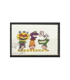 1928 Kinderzegels gestanst (o)
