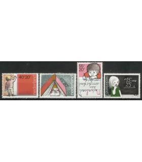 1167 - 1170 Kinderzegels (xx)