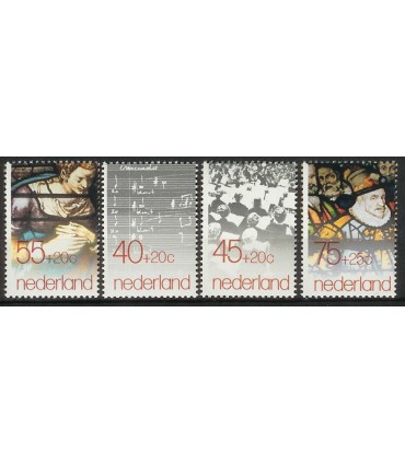 1175 - 1178 Zomerzegels (xx)