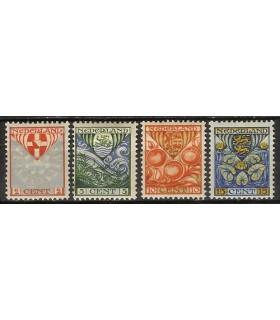 199 - 202 Kinderzegels (xx)