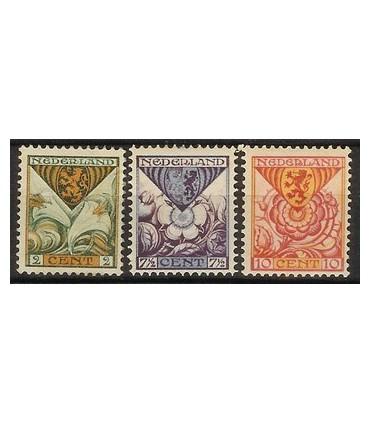 166 - 168 Kinderzegels (xx)