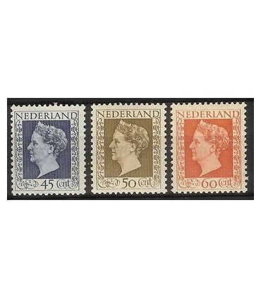 487 - 489 Koningin Wilhelmina (xx)