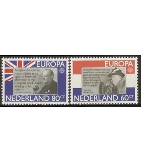 1207 - 1208 Europa-zegels (xx)