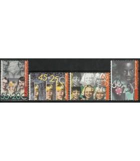1232 - 1235 Kinderzegels (xx)