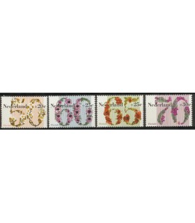 1262 - 1265 Zomerzegels (xx)