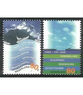 1822 - 1823 Waterlandzegels (xx)