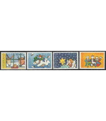 1295 - 1298 Kinderzegels (xx)