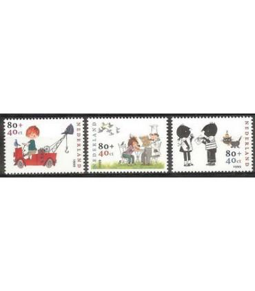 1852 - 1854 Kinderzegels (xx)