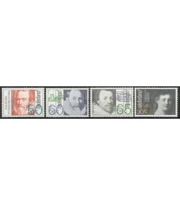 1281 - 1284 Zomerzegels (xx)