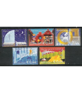 2571 - 2575 Jubileum postzegels (xx)