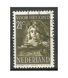 398 Kinderzegel (o)