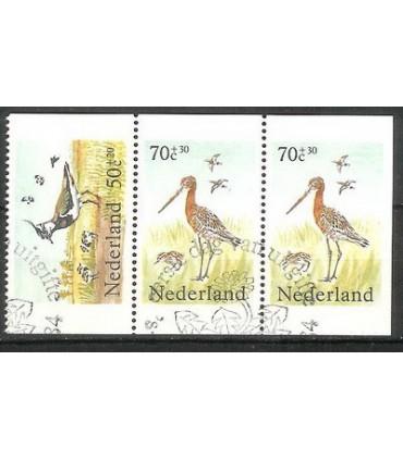 1305a - 1305c Zomerzegels (o)