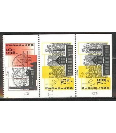 1375a - 1375c Zomerzegels (o)