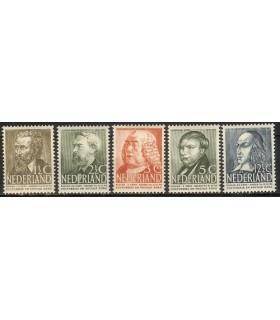 318 - 322 Zomerzegels (xx)