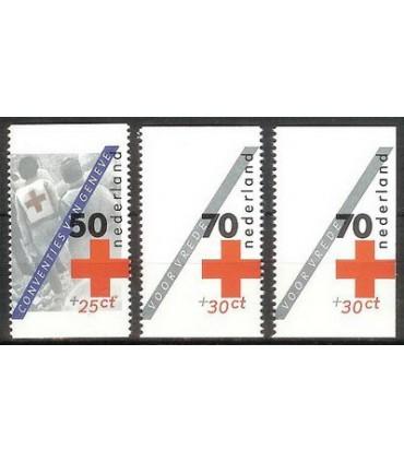 1293a -1293c Rode Kruis los (xx)