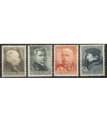283 - 286 Zomerzegels (xx)