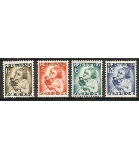 270 - 273 Kinderzegels (x)