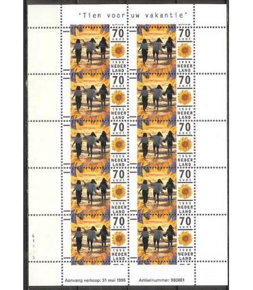 1678 Vakantiezegel vel (xx)