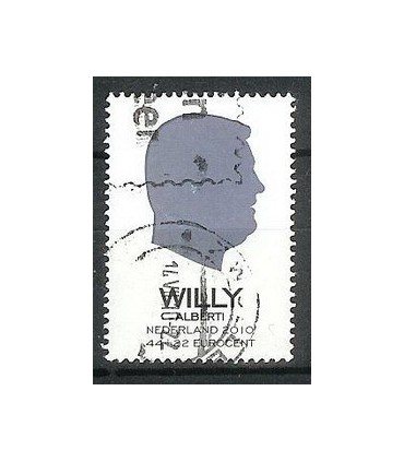 2716d Ouderenzegel Willy (o)