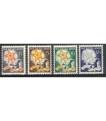 261 - 264 Kinderzegels (xx)