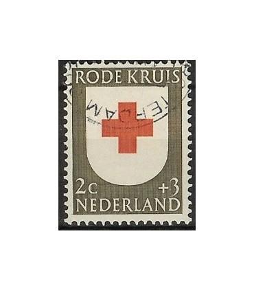 607 Rode Kruiszegels (o)