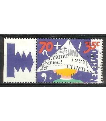 1575 Kinderzegel TAB1 (o)