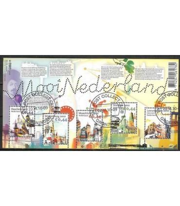 2719 Verzamelblok Mooi Nederland (o)