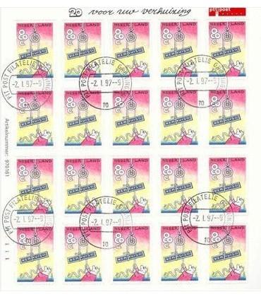 1706 Verhuiszegel vel (o)
