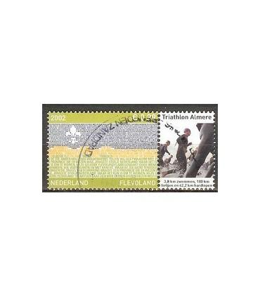 2076 Provinciezegel TAB (o) thriathlon