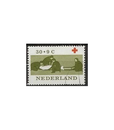799 Rode Kruiszegel (o)