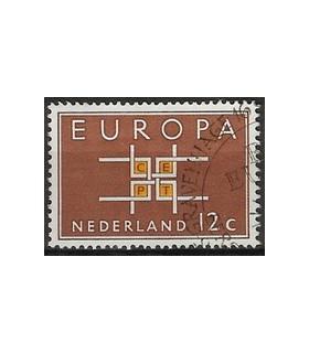 800 Europa zegel (o)