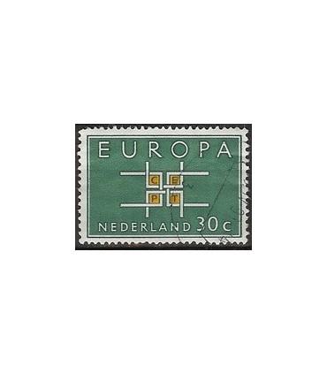 801 Europa zegel (o)